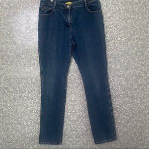 St John blue jeans size 10 good used condition